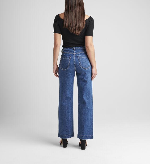 Sophia High Rise Ankle Wide Leg Jeans, , hi-res