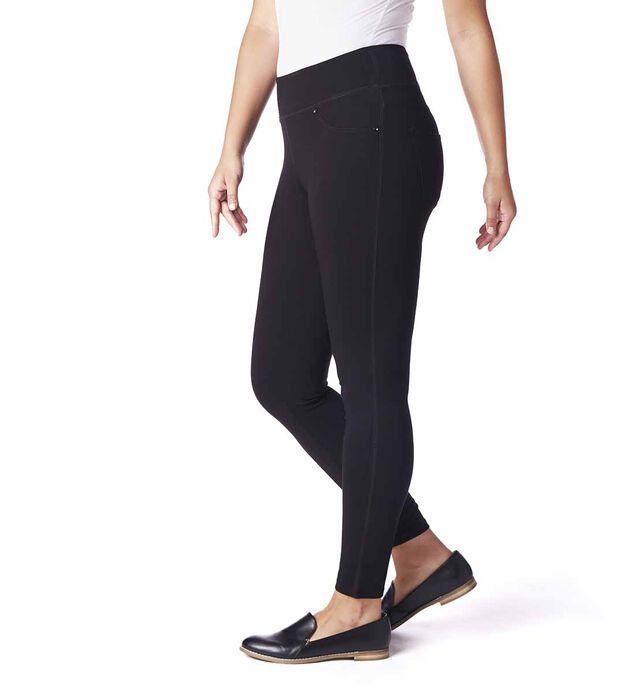 Ricki Mid Rise Legging Petite, Black, hi-res