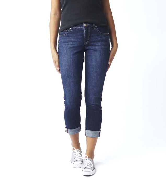 Carter Mid Rise Girlfriend Jeans Petite, , hi-res