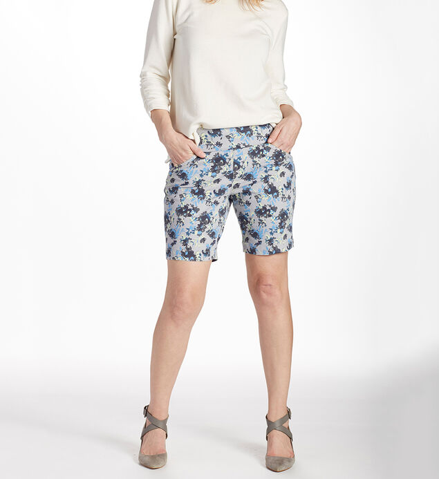 Ainsley 8 Inch Floral Short Front