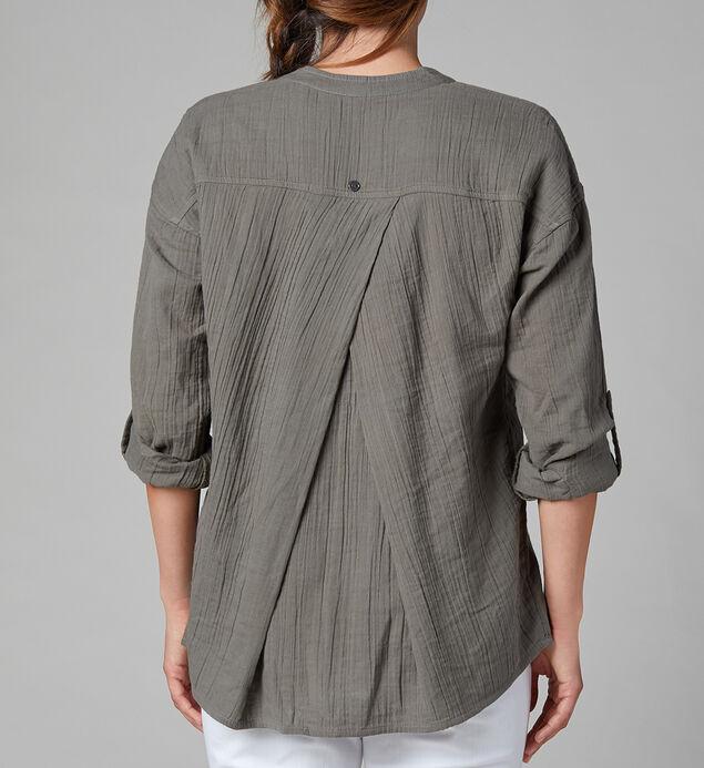 Rosa Button-Down Shirt, Jungle Palm, hi-res