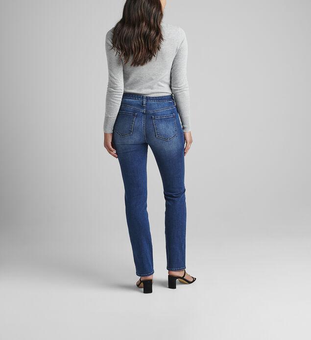 Ruby Mid Rise Straight Leg Jeans Petite, , hi-res
