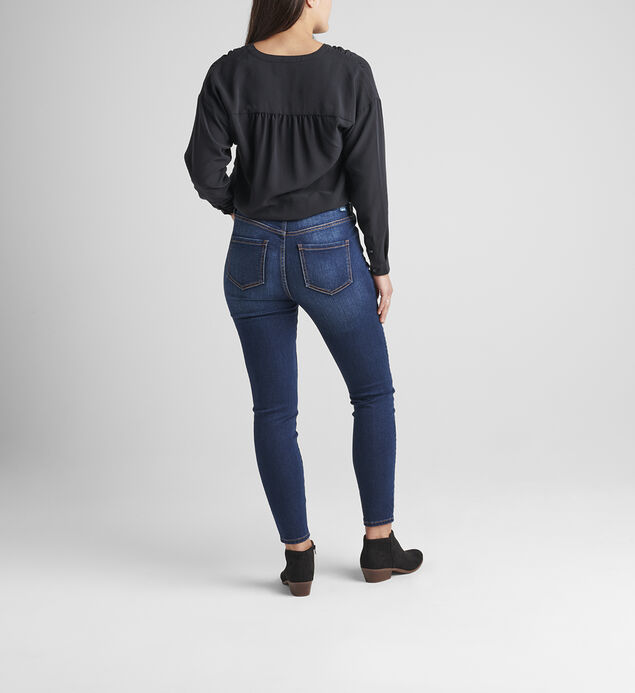 Valentina High Rise Skinny Pull-On Jeans, , hi-res