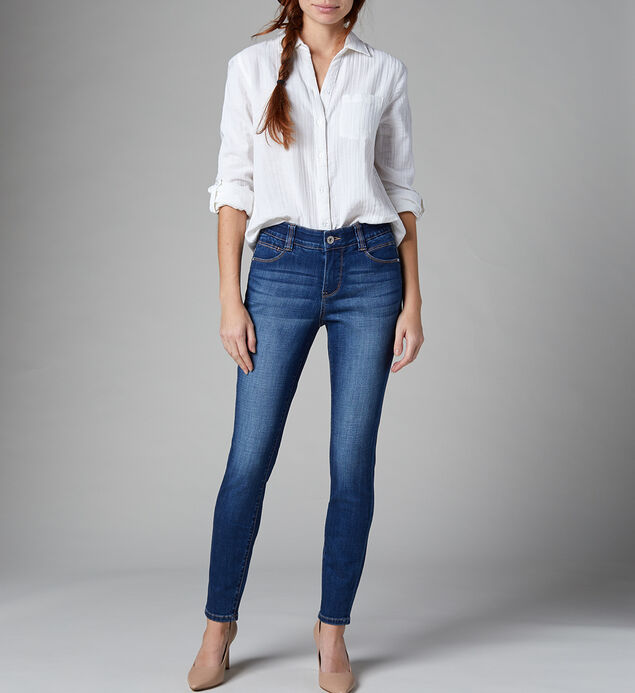 Cecilia Mid Rise Skinny Jeans, , hi-res