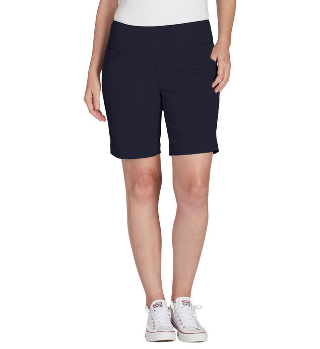 "Ainsley Mid Rise 7"" Short Petite, Nautical Navy, hi-res"