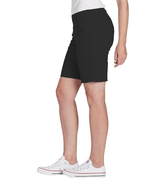 Ainsley 8 Inch Short, Black, hi-res
