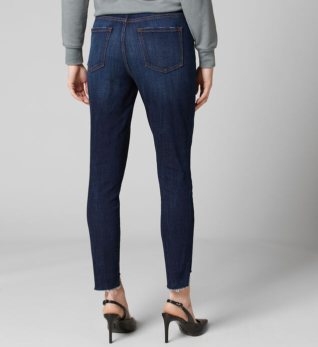 Maya High Rise Ankle Skinny Pull-On Jeans, , hi-res