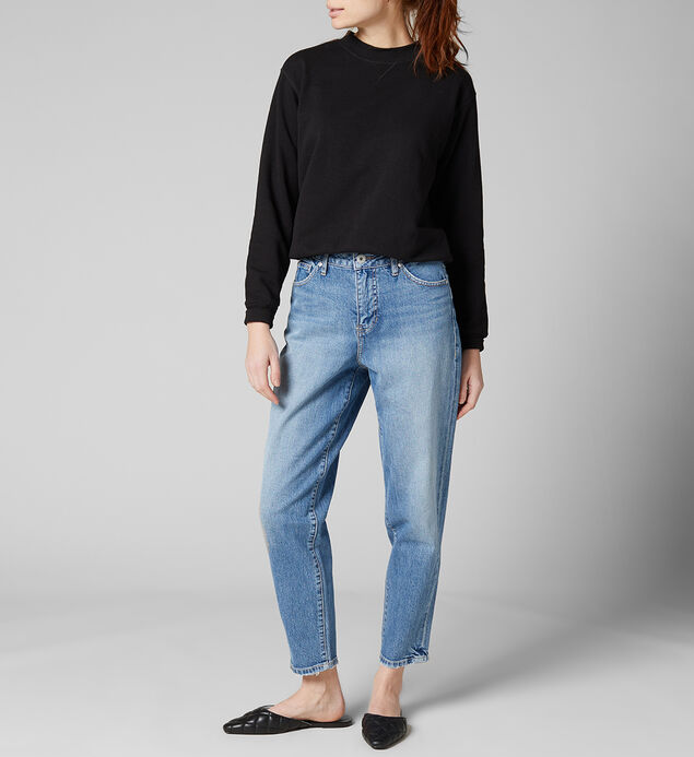 Luna High Rise Vintage Tapered Jeans, , hi-res
