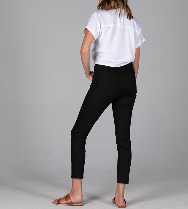 Nora Mid Rise Skinny Pull-On Jeans - Sustainable Fabric, , hi-res