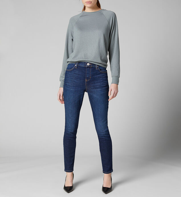 Valentina High Rise Skinny Pull-On Jeans Petite, , hi-res
