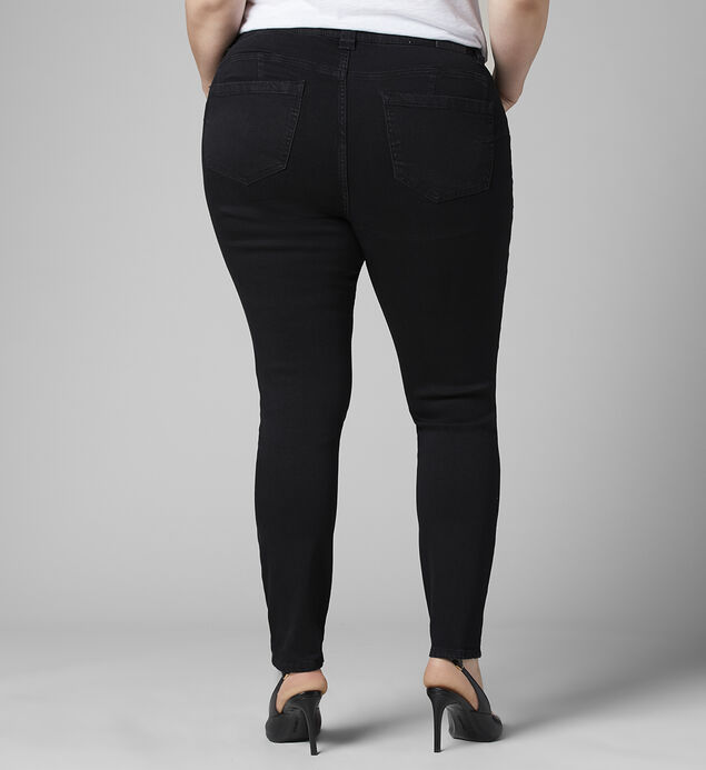 Cecilia Mid Rise Skinny Jeans Plus Size, , hi-res