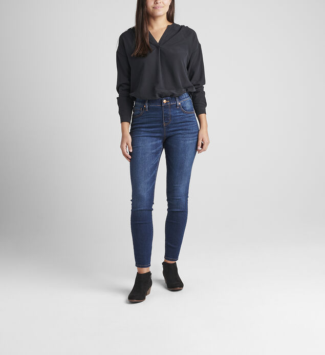 Valentina High Rise Skinny Pull-On Jeans