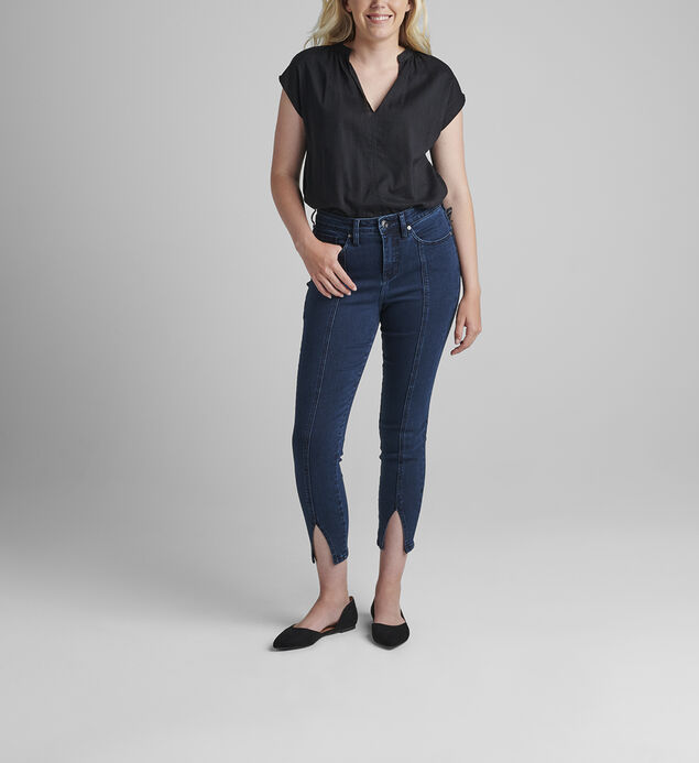 Viola High Rise Ankle Skinny Jeans
