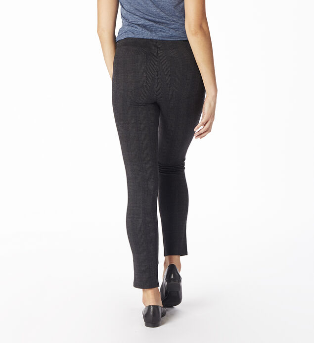 Marla Glen Plaid Legging, , hi-res