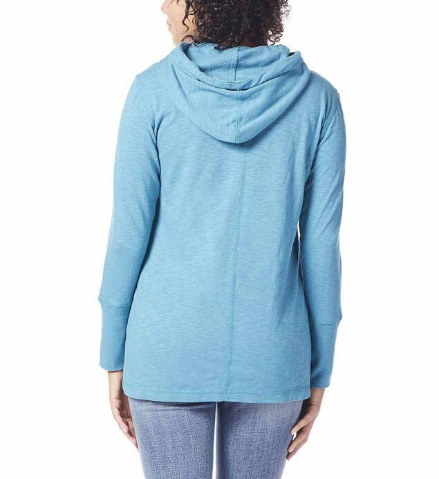 Gemma Hooded Tunic, Jewel, hi-res