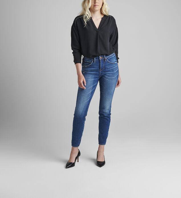 Cecilia Mid Rise Skinny Jeans Petite