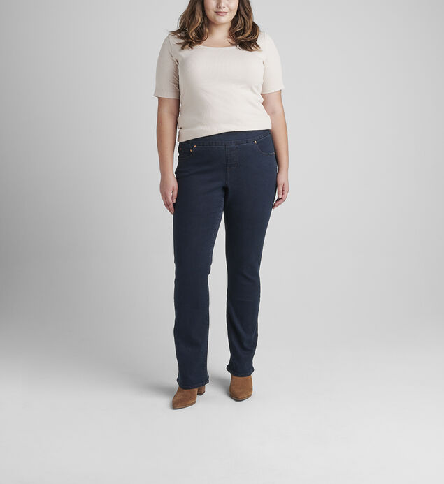 Paley Mid Rise Bootcut Pull-On Jeans Plus Size