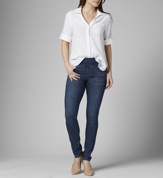 Nora Mid Rise Skinny Jeans