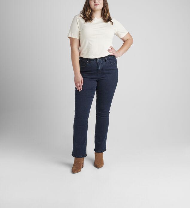 Eloise Mid Rise Bootcut Jeans Plus Size