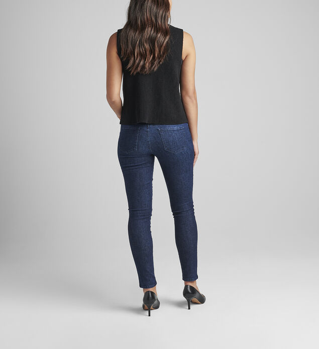 Nora Mid Rise Skinny Pull-On Jeans Petite, , hi-res