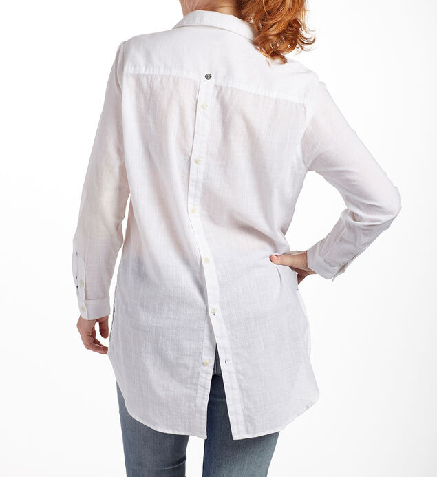 Back Button Magnolia Tunic, , hi-res