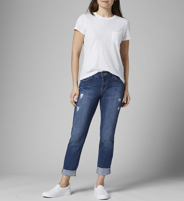 Carter Mid Rise Girlfriend Jeans