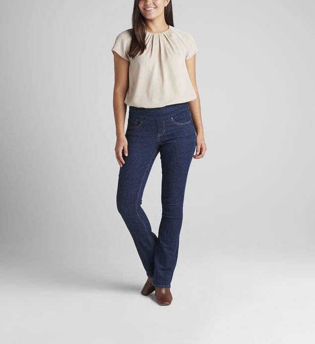 Paley Mid Rise Bootcut Pull-On Jeans