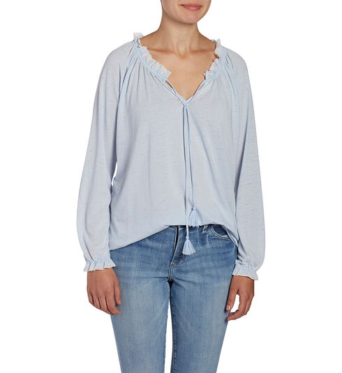 Peasant Tee, Bluebell, hi-res