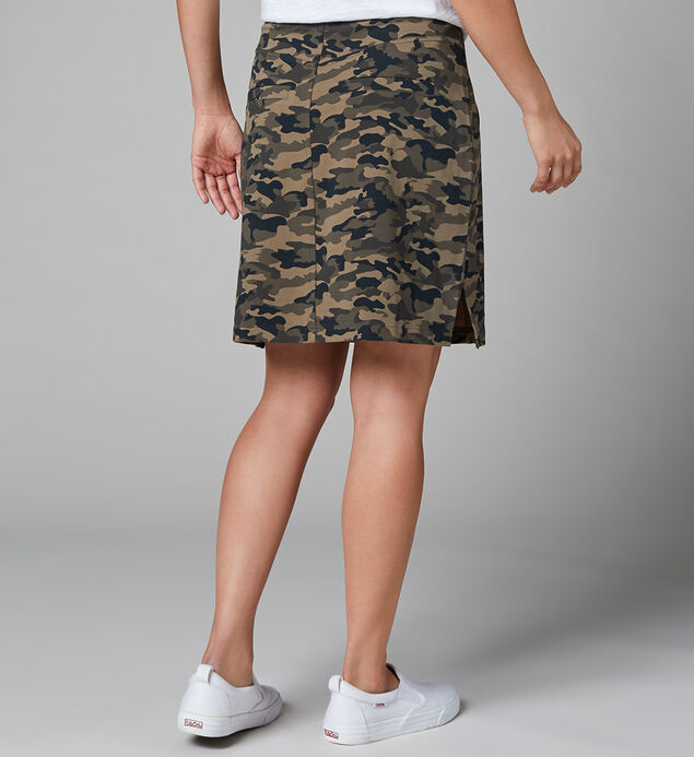 Ashley Skort Camo, Camouflage, hi-res