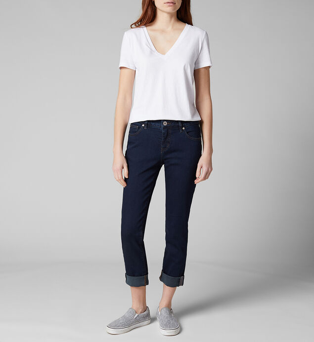Carter Mid Rise Girlfriend Jeans - Sustainable Fabric, , hi-res