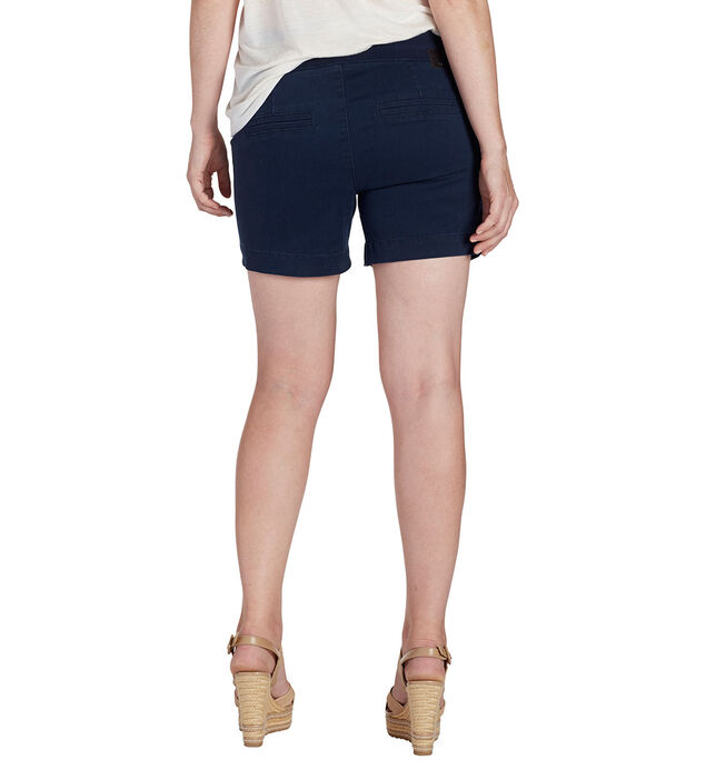 Ainsley Mid Rise Short, Nautical Navy, hi-res