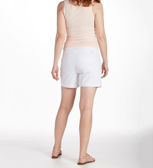 Ainsley 5 Inch Short White Back