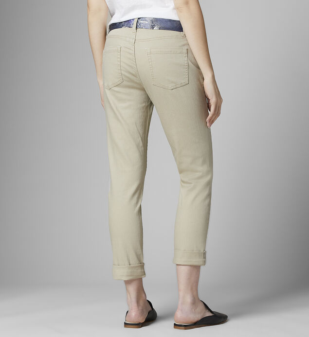 Carter with Satin Belt, Khaki, hi-res