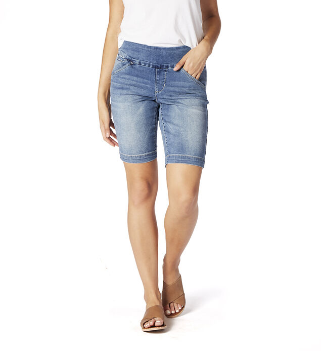 Ainsley Mid Rise Bermuda Short, , hi-res