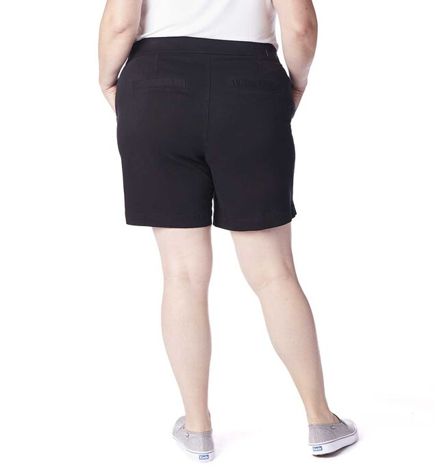 "Plus Gracie 8"" Short, Black, hi-res"