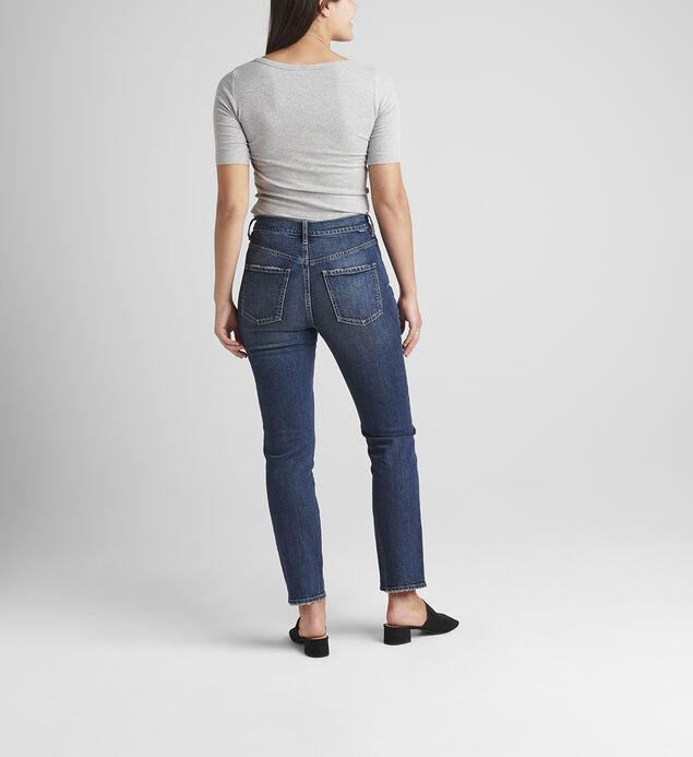 Stella High Rise 30-Inch Straight Leg Jeans, , hi-res