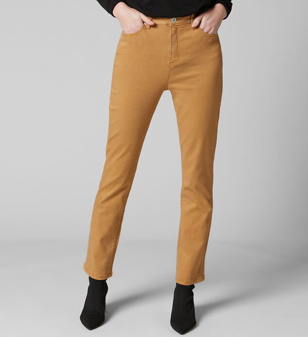Olivia High Rise Straight Leg Jeans, Amber Sun, hi-res