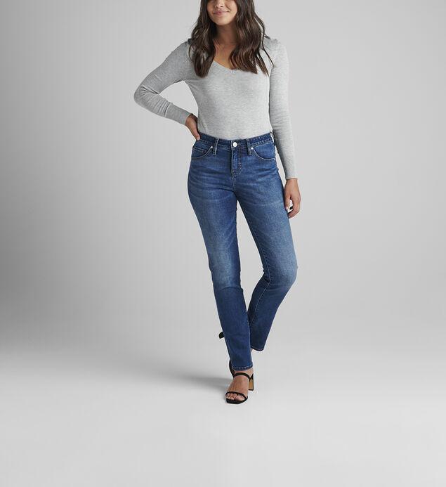 Ruby Mid Rise Straight Leg Jeans Petite
