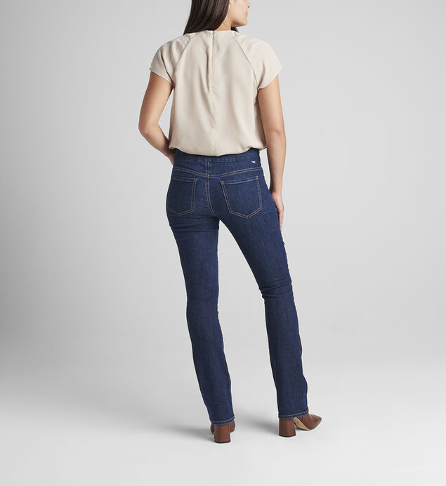 Paley Mid Rise Bootcut Pull-On Jeans, , hi-res