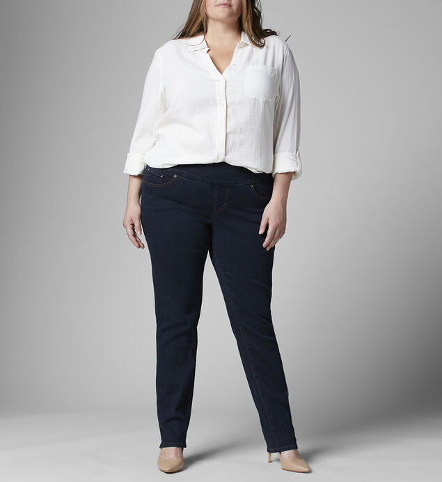 Nora Mid Rise Skinny Jeans Plus Size
