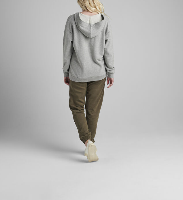 The Lace Up Hoodie, , hi-res