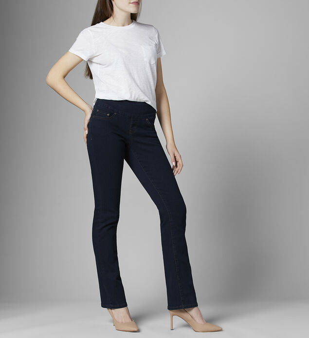 Paley Mid Rise Bootcut Jeans Petite