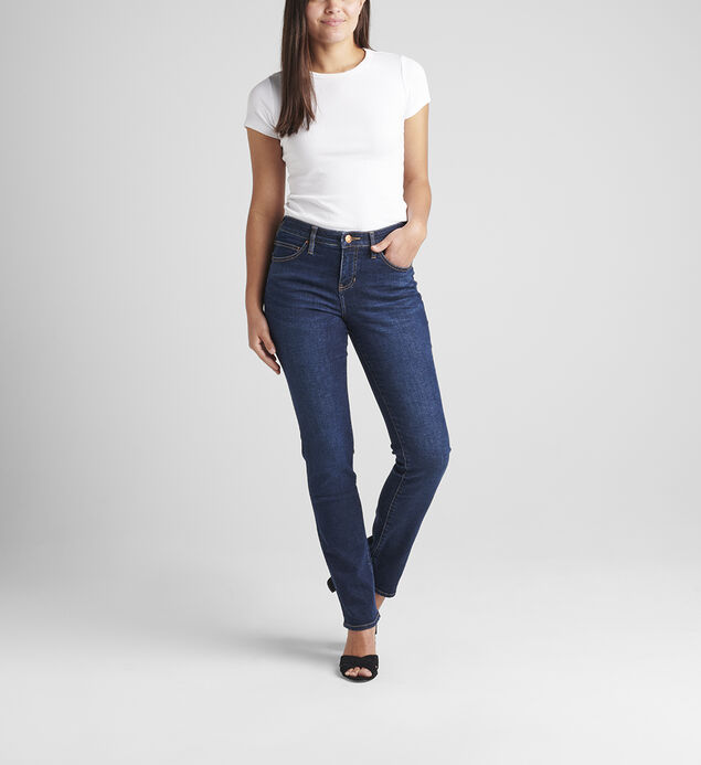 Ruby Mid Rise Straight Leg Jeans, , hi-res