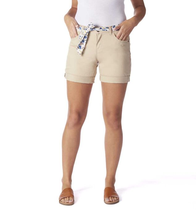 Carter Girlfriend Short, Khaki, hi-res