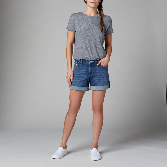 Alex Mid Rise Boyfriend Shorts