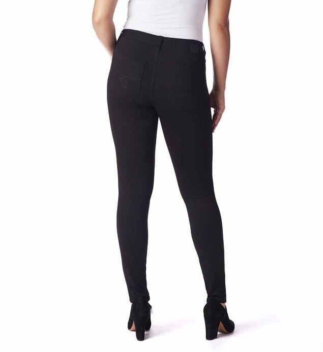 Lara Mid Rise Skinny Pants, Black, hi-res