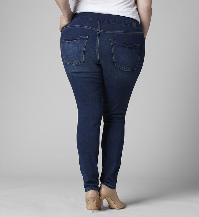 Nora Mid Rise Skinny Jeans Plus Size, , hi-res