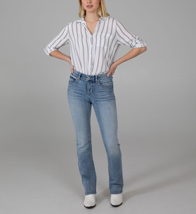 Eloise Mid Rise Bootcut Jeans, , hi-res