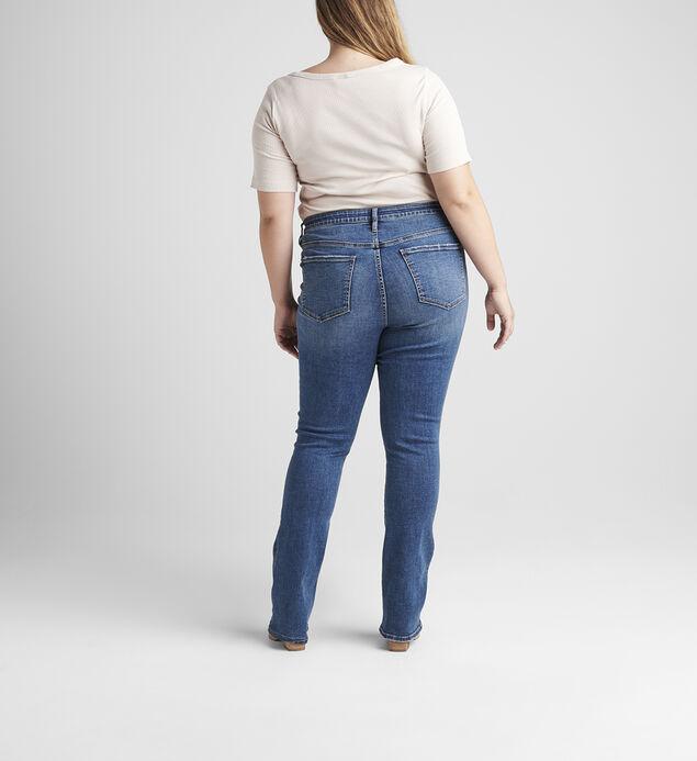 Eloise Mid Rise Bootcut Jeans Plus Size, , hi-res