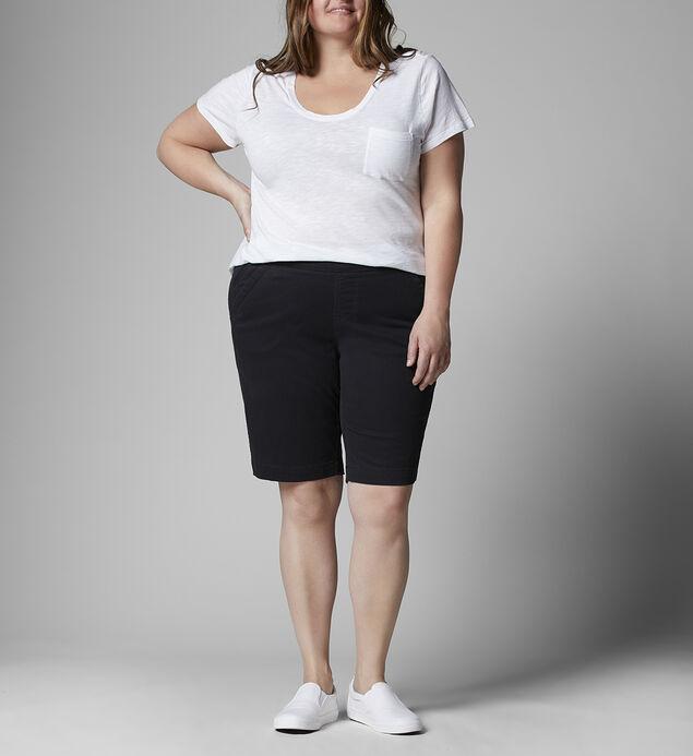 Gracie Mid Rise Bermuda Short Plus Size